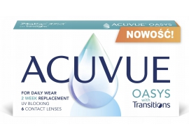 ACUVUE OASYS with Transitions (6 sztuk)